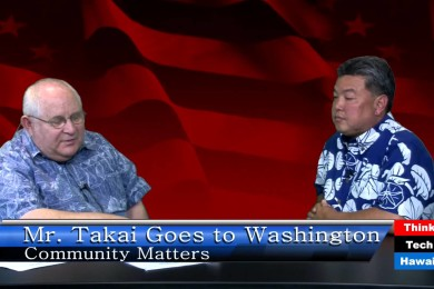 Mr. Takai Goes to Washington